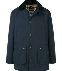 barbour sl beadle casual jacket - blue