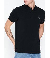 fred perry plain fp shirt piké black/chrome