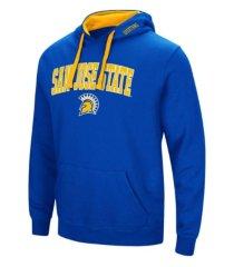 colosseum san jose state spartans men's arch logo hoodie