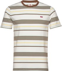 ss original hm tee bright stri t-shirts short-sleeved creme levi´s men