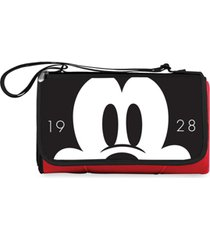 oniva by picnic time disney's mickey mouse blanket tote outdoor picnic blanket