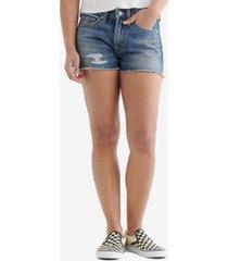 women's butterfly mid rise boy shorts