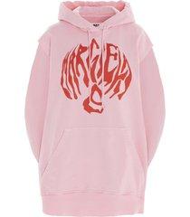 mm6 maison margiela circle hoodie