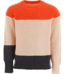 jil sander multicolor pullover