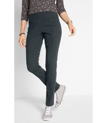 afslankende stretch broek, straight