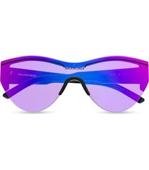 ski cat eye sunglasses purple
