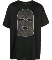 mostly heard rarely seen hide and seek drop shoulder t-shirt - black