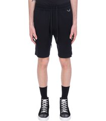 low brand shorts in black viscose
