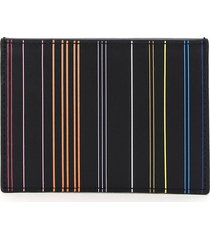 paul smith stripe card holder