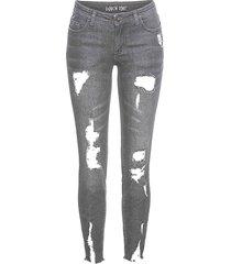 jeans super skinny (grigio) - rainbow
