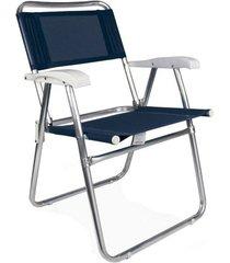 cadeira master alumínio tela sannet