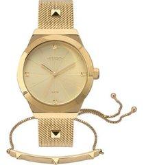 relógio euro unique feminino