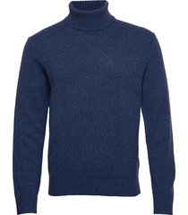 italian merino turtleneck sweater knitwear turtlenecks blauw banana republic