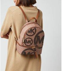 michael michael kors women's rhea zip backpack - luggage/multi