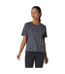 camiseta new balance q speed jacquart feminina