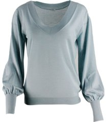 malo oversized sweater with long sleeves