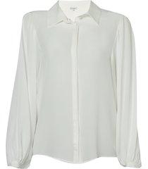 camisa le lis blanc julia seda off white feminina (dust, 50)