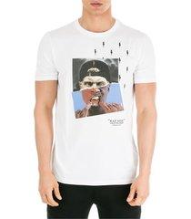 neil barrett street-nox t-shirt