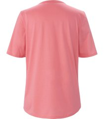 pyjama 100% katoen korte mouwen van rösch roze