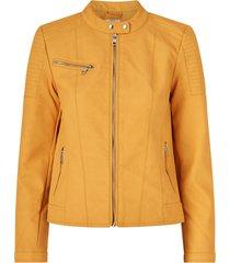jacka onlmelanie faux leather jacket