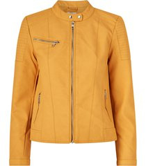 jacka onlmelanie faux leather jacket