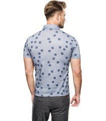 koszulka polo edberg niebieski