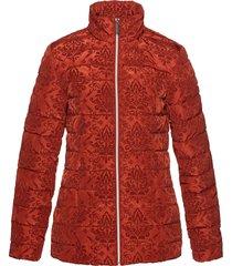 giacca trapunta con stampa vellutata (rosso) - bpc selection