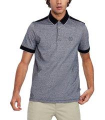 ax armani exchange men's colorblocked polo shirt