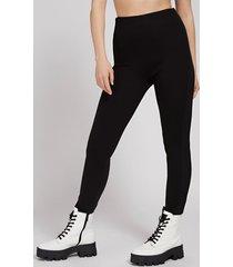 legginsy z elastycznym logo