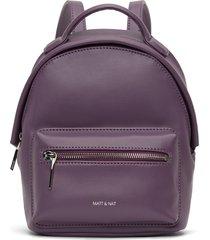 matt & nat balimini backpack, mulberry