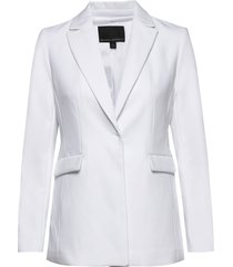 sculpted-fit washable blazer blazer kavaj vit banana republic