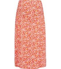 rok met verstevigde band en bloemetjesprint van peter hahn multicolour