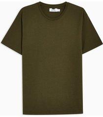 mens khaki classic t-shirt