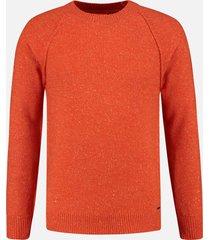 dstrezzed pullover oranje melange rf 405292/439