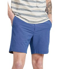 men's faherty all day 7-inch shorts, size 30 - blue
