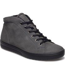 fara shoes boots ankle boots ankle boot - flat grå ecco