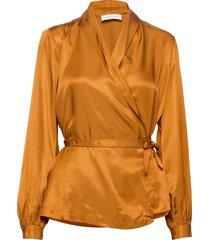 kind blouse blouse lange mouwen bruin storm & marie