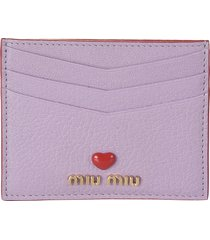 miu miu madras love card holder