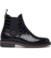 maliin chelsea shoes chelsea boots svart gant