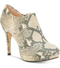 vince camuto women's elvin platform booties women's shoes