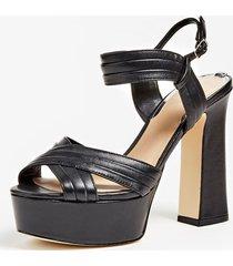 skórzane sandały model jania