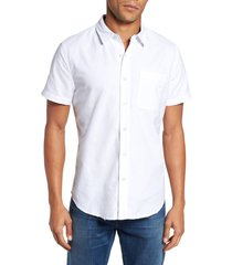 ag nash slim fit sport shirt, size x-large in 5 years white at nordstrom