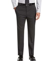 joseph abboud modern fit charcoal tic suit separates dress pants