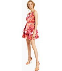 bar iii tie-waist mini dress, created for macy's