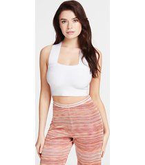 bandażowy crop top marciano
