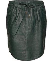 marine skirt kort kjol grön minus