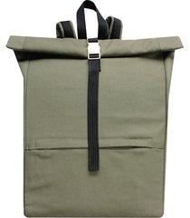 szaro-zielony plecak kurierski