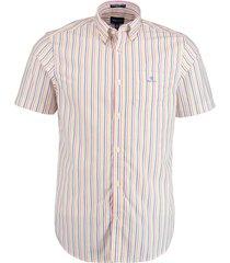 gant overhemd stripe reg roze rf 3060501/665