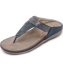 pantofole casual da spiaggia con cucitura a punta di strass