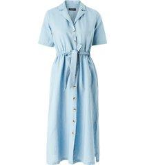 skjortklänning slfcally ss midi dress